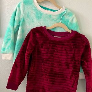 Cat & Jack Pullover Sweater Bundle (4/5T)